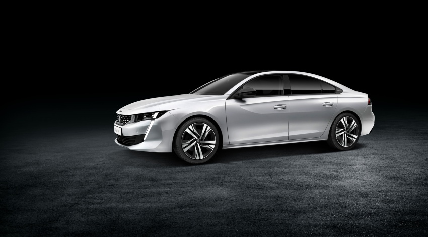 New Peugeot 508 officially revealed – now smaller and with a tailgate, targets Audi A5 Sportback Image #781739