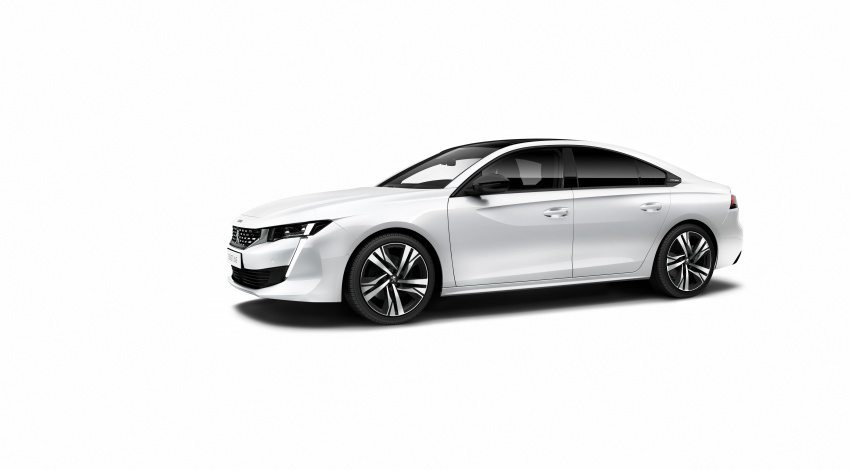 New Peugeot 508 officially revealed – now smaller and with a tailgate, targets Audi A5 Sportback Image #781760