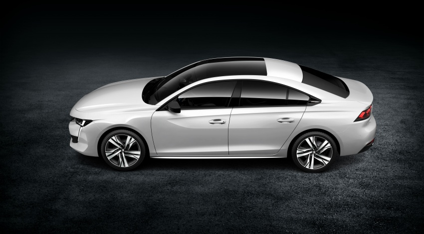 New Peugeot 508 officially revealed – now smaller and with a tailgate, targets Audi A5 Sportback Image #781762