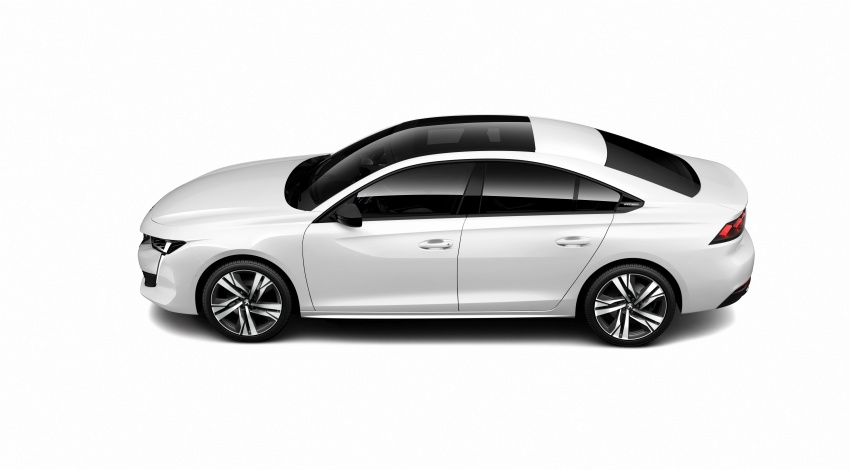 New Peugeot 508 officially revealed – now smaller and with a tailgate, targets Audi A5 Sportback Image #781761