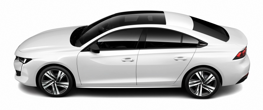 New Peugeot 508 officially revealed – now smaller and with a tailgate, targets Audi A5 Sportback Image #781721