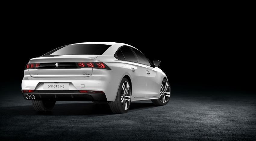 New Peugeot 508 officially revealed – now smaller and with a tailgate, targets Audi A5 Sportback Image #781725