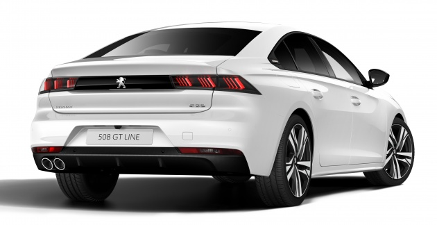 Peugeot 508 2018 >> New Peugeot 508 officially revealed - now smaller and with a tailgate, targets Audi A5 Sportback