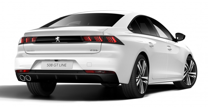 New Peugeot 508 officially revealed – now smaller and with a tailgate, targets Audi A5 Sportback Image #781723