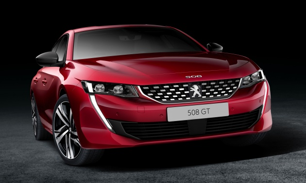 New Peugeot 508 Officially Revealed Now Smaller And With A