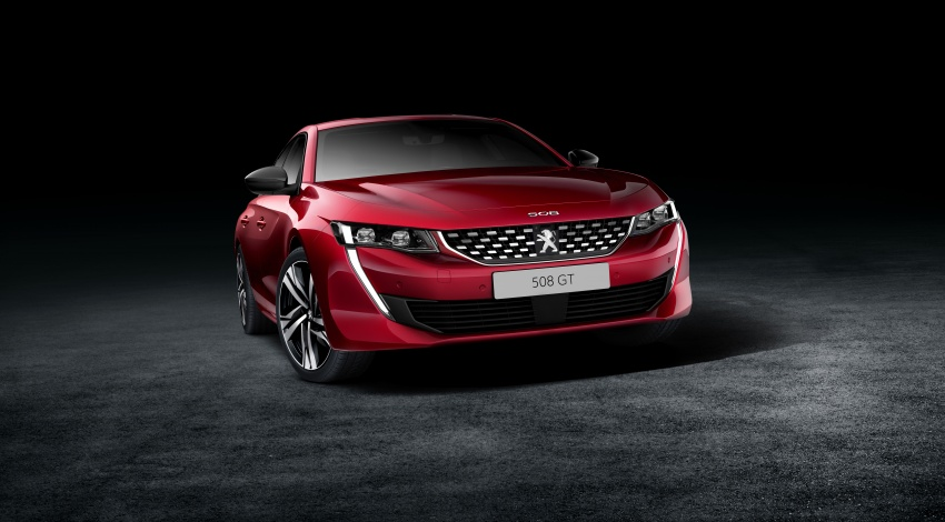 New Peugeot 508 officially revealed – now smaller and with a tailgate, targets Audi A5 Sportback Image #781727