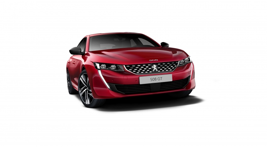 New Peugeot 508 officially revealed – now smaller and with a tailgate, targets Audi A5 Sportback Image #781680