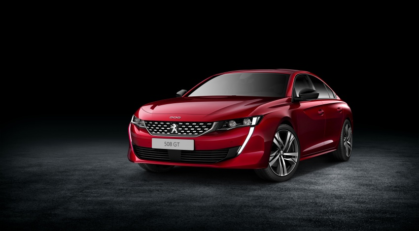 New Peugeot 508 officially revealed – now smaller and with a tailgate, targets Audi A5 Sportback Image #781682