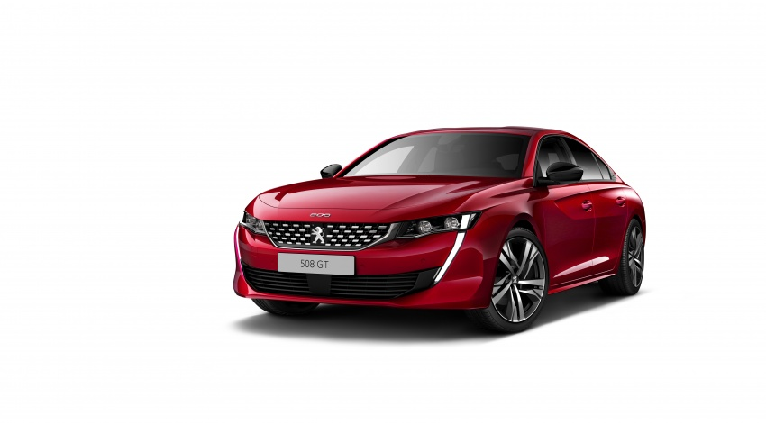 New Peugeot 508 officially revealed – now smaller and with a tailgate, targets Audi A5 Sportback Image #781681