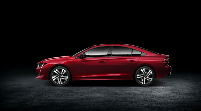 New Peugeot 508 officially revealed – now smaller and with a tailgate, targets Audi A5 Sportback Image #781705