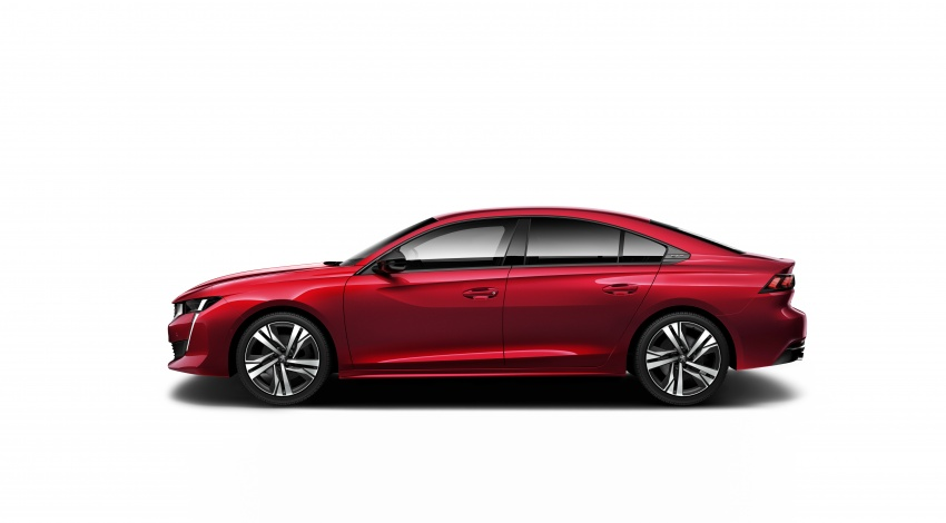 New Peugeot 508 officially revealed – now smaller and with a tailgate, targets Audi A5 Sportback Image #781683