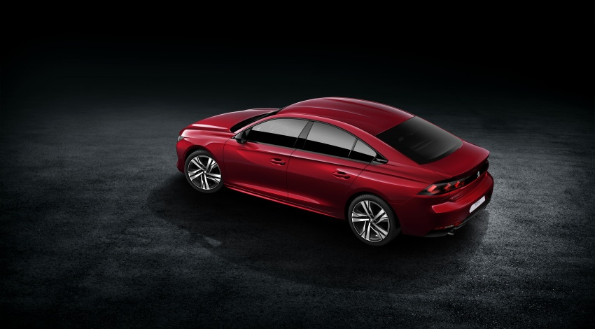 New Peugeot 508 officially revealed – now smaller and with a tailgate, targets Audi A5 Sportback Image #781687