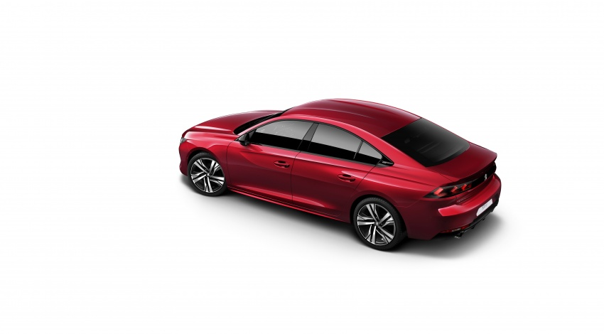 New Peugeot 508 officially revealed – now smaller and with a tailgate, targets Audi A5 Sportback Image #781685