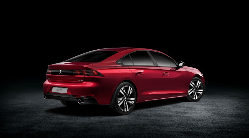 New Peugeot 508 officially revealed – now smaller and with a tailgate, targets Audi A5 Sportback Image #781752