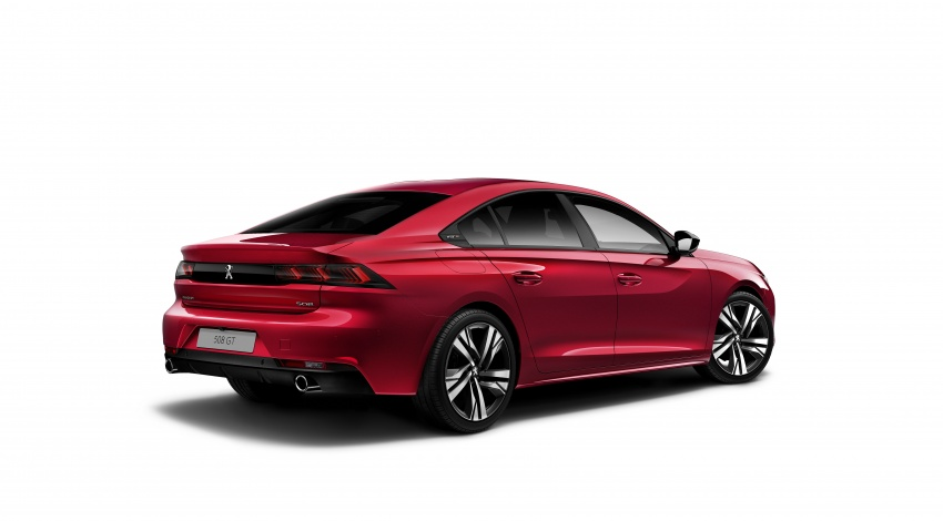 New Peugeot 508 officially revealed – now smaller and with a tailgate, targets Audi A5 Sportback Image #781751
