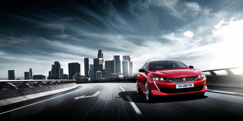 New Peugeot 508 officially revealed – now smaller and with a tailgate, targets Audi A5 Sportback Image #781691