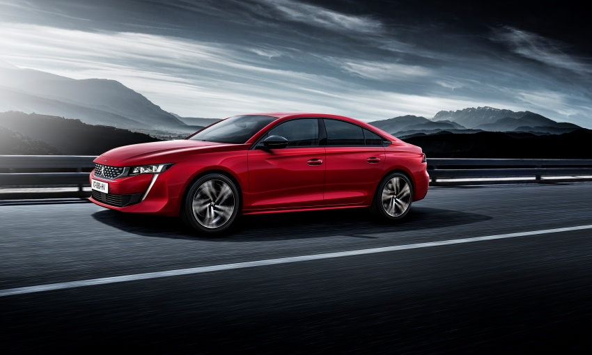 New Peugeot 508 officially revealed – now smaller and with a tailgate, targets Audi A5 Sportback Image #781692