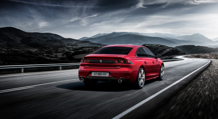 New Peugeot 508 officially revealed – now smaller and with a tailgate, targets Audi A5 Sportback Image #781693