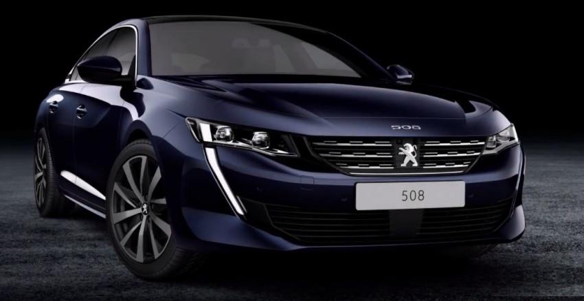 Peugeot 508 baharu – foto bocor sebelum ke Geneva Image #780867