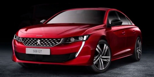 New Peugeot 508 Pics Leaked Ahead Of Geneva Debut