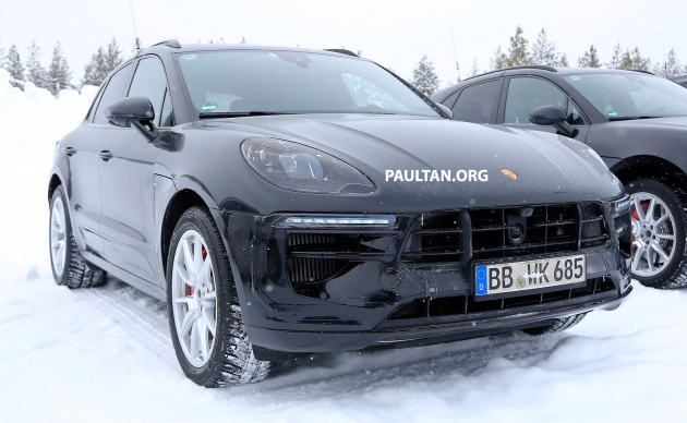SPYSHOTS: 2019 Porsche Macan facelift in the cold - CarLabs