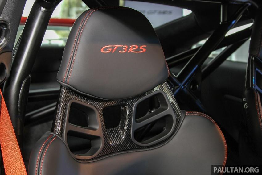 Porsche 911 GT3 RS 2018 – foto rasmi, info bocor Image #776290
