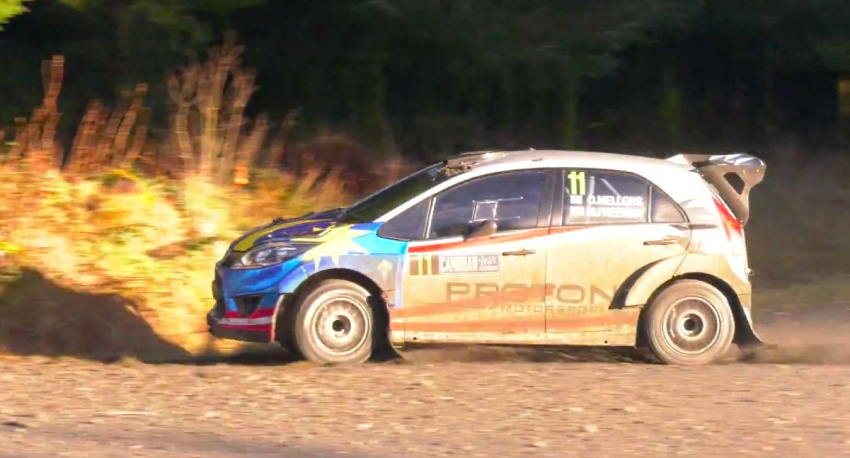 Proton Iriz R5 scores another victory in Cambrian Rally Image #779699