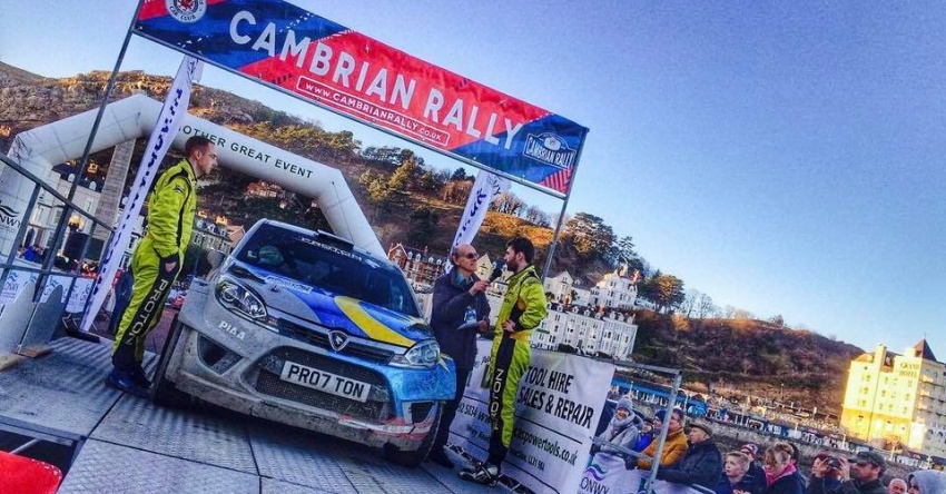 Proton Iriz R5 scores another victory in Cambrian Rally Image #779700