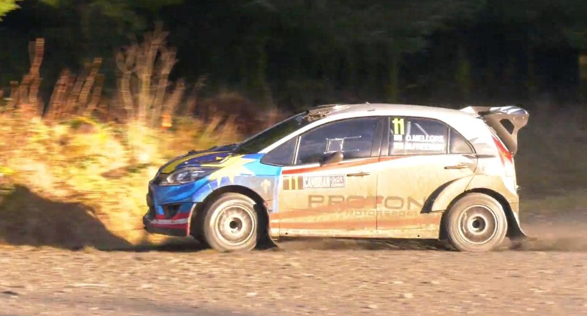 Video Proton Iriz R5 Juara Cambrian Rally 2018