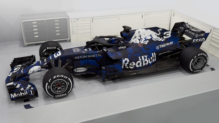 Red Bull Racing tunjuk jentera lumba F1 musim 2018 Image #780530
