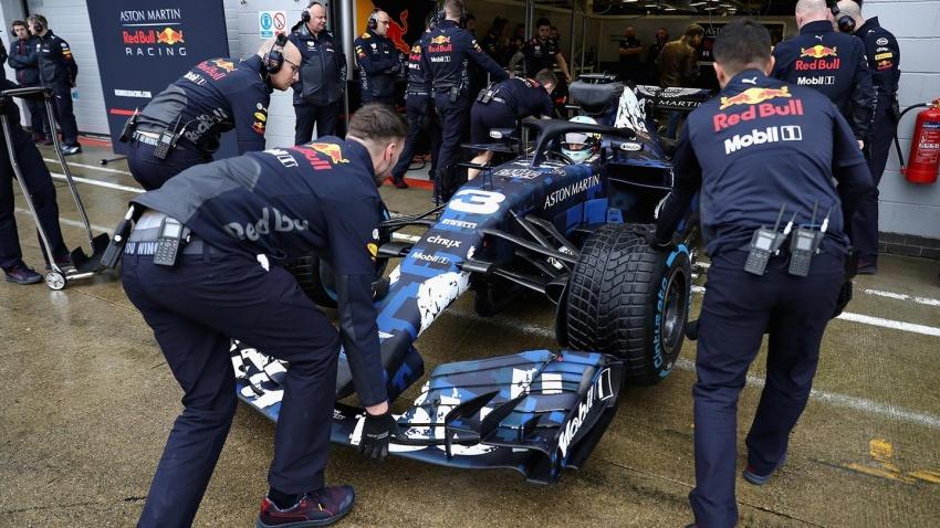 Red Bull Racing tunjuk jentera lumba F1 musim 2018 Image #780533