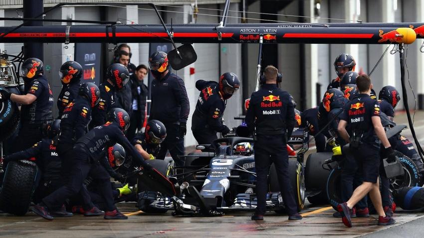 Red Bull Racing tunjuk jentera lumba F1 musim 2018 Image #780535