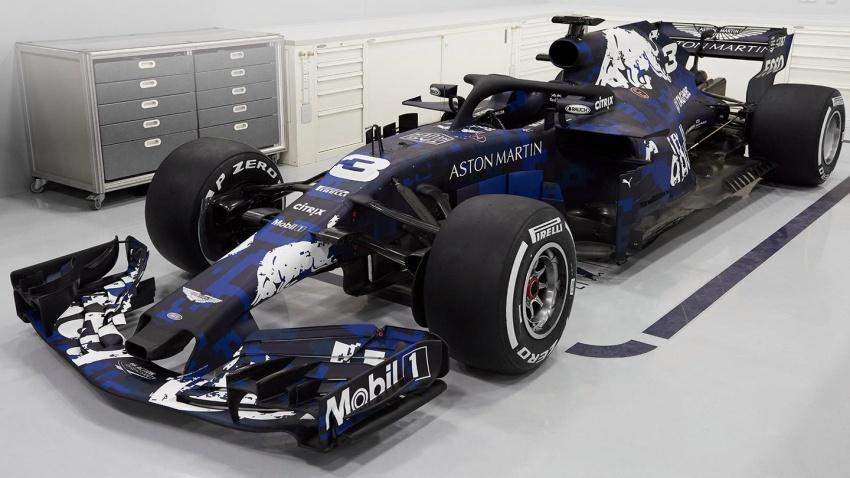 Red Bull Racing tunjuk jentera lumba F1 musim 2018 Image #780539