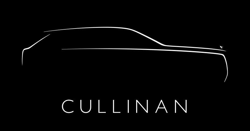 Rolls-Royce Cullinan – nama rasmi SUV didedahkan Image #779126