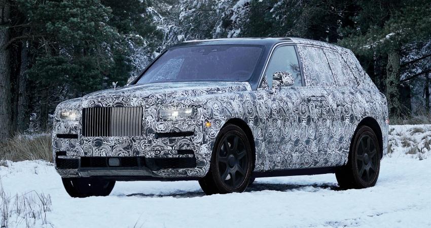 Rolls-Royce Cullinan – nama rasmi SUV didedahkan Image #779127