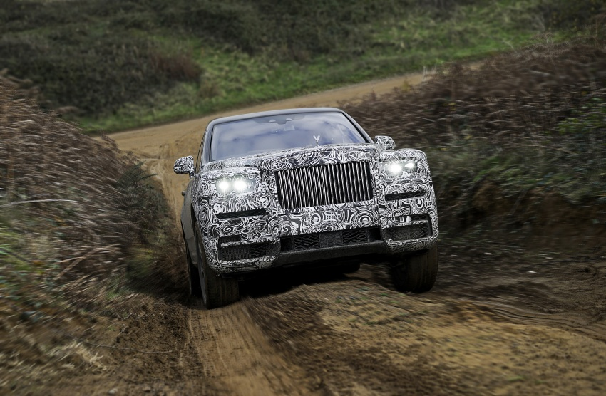 Rolls-Royce Cullinan – official name for SUV revealed Image #778932