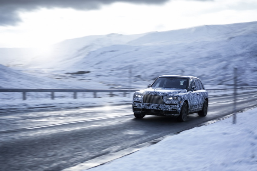 Rolls-Royce Cullinan – official name for SUV revealed Image #778933