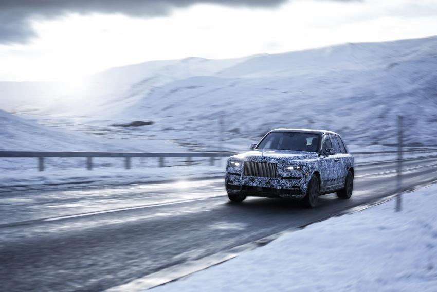 Rolls-Royce Cullinan – nama rasmi SUV didedahkan Image #779129