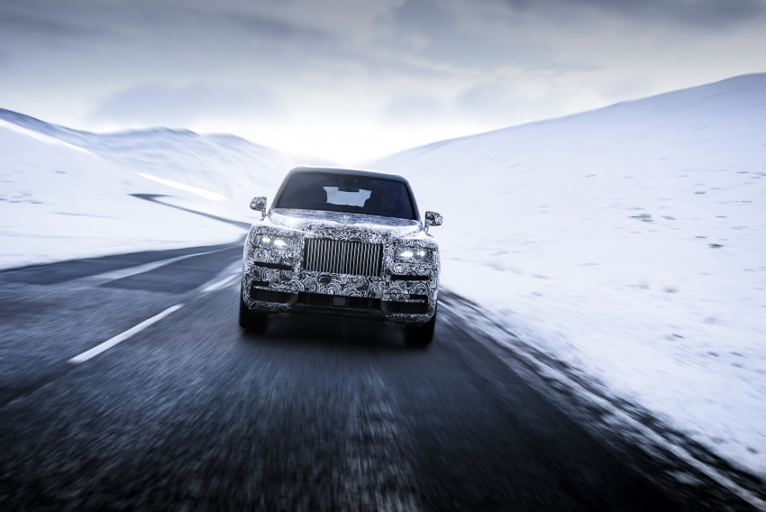 Rolls-Royce Cullinan – official name for SUV revealed Image #778935