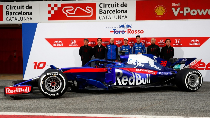 Toro Rosso and Force India reveal their 2018 F1 cars Image #783676
