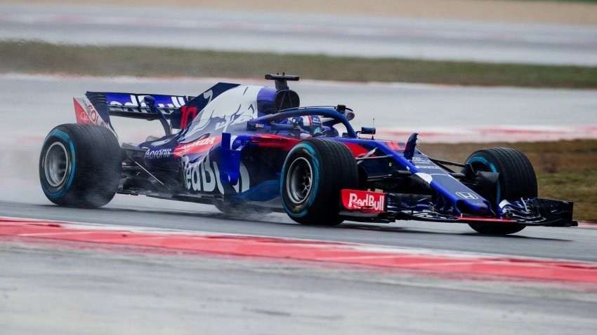 Toro Rosso and Force India reveal their 2018 F1 cars Image #783639
