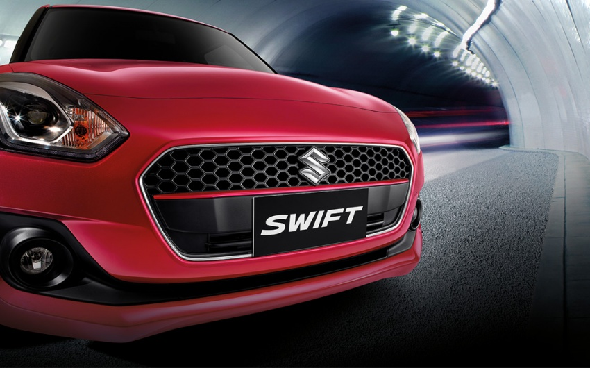 2018 Suzuki Swift launched in Thailand – 1.2L CVT, 23 km/l Phase 2 eco car, priced from RM62k Image #777461