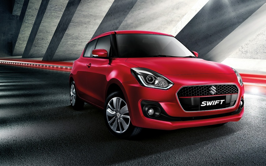 2018 Suzuki Swift launched in Thailand – 1.2L CVT, 23 km/l Phase 2 eco car, priced from RM62k Image #777463