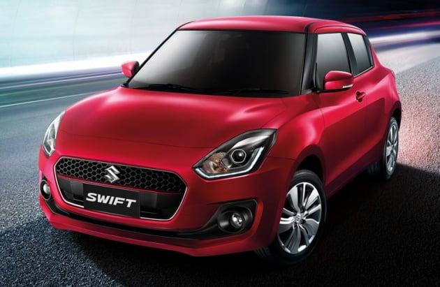 2018 Suzuki Swift Launched In Thailand 1 2l Cvt 23 Km L Phase 2
