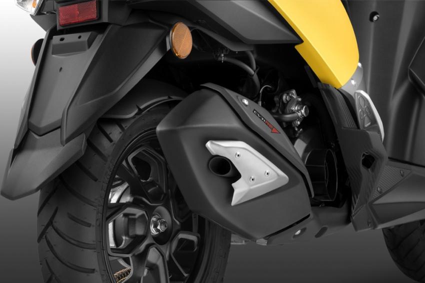 TVS NTorq 125 dilancar di India – skuter canggih yang boleh disambung dengan telefon pintar, aplikasi khas Image #776803