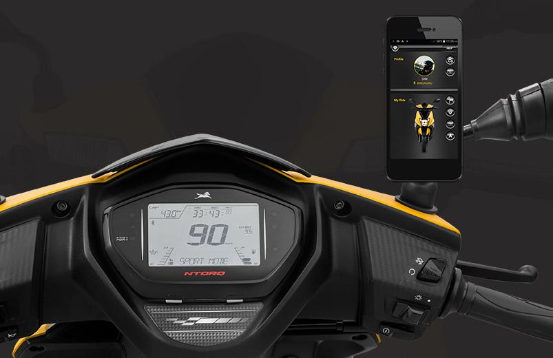 TVS NTorq 125 dilancar di India – skuter canggih yang boleh disambung dengan telefon pintar, aplikasi khas Image #776790