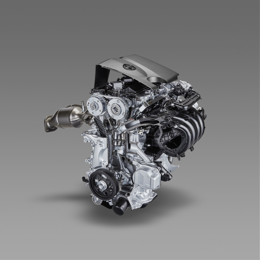 Toyota reveals new 2.0L Dynamic Force Engine, 2.0L hybrid system, Direct Shift-CVT, 4WD systems Image #783275