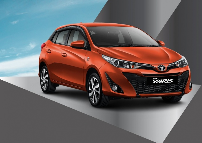 Toyota Yaris facelift launched in Indonesia, fr RM67k Image #782186