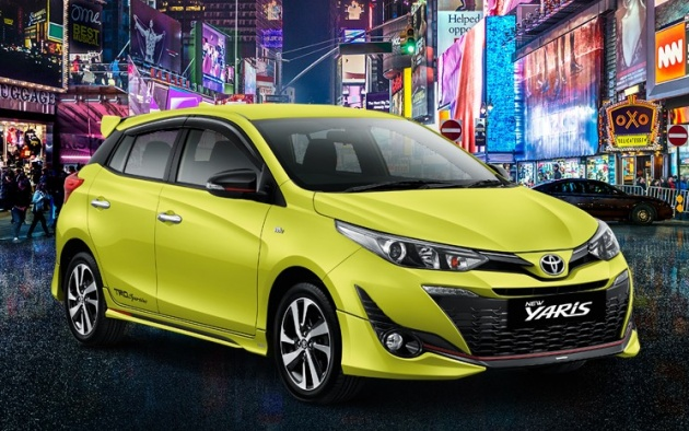 toyota yaris facelift launched in indonesia fr rm67k. Black Bedroom Furniture Sets. Home Design Ideas
