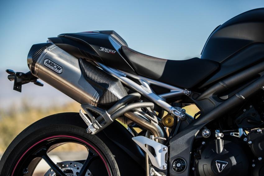 Triumph Speed Triple – kuasa ditingkat, lebih canggih Image #775698